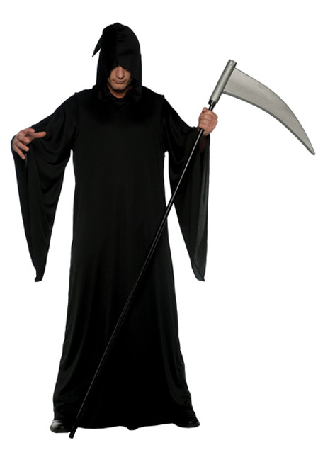 Menu0027s Grim Reaper Robe UR28468  sc 1 st  Halloween Express & Plus Size Witch and Devil Costumes