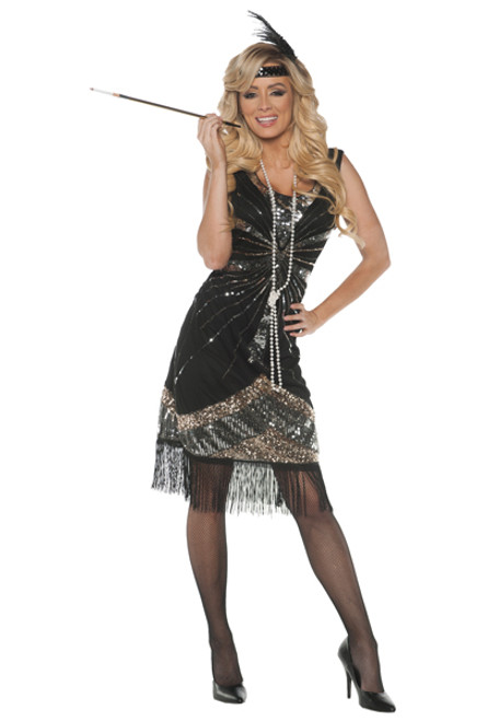 Womenu0027s Flapper Costume UR28190  sc 1 st  Halloween Express & Sexy Plus Size Costumes
