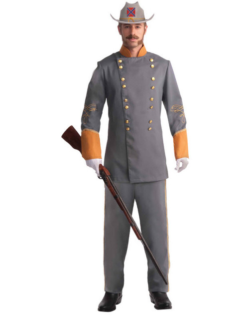 Menu0027s Confederate Officer Costume FM66094  sc 1 st  Halloween Express & Military Halloween Costumes - Law Enforcement Costumes - Police Costumes