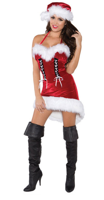 Womenu0027s Miss Santa Costume UR29593  sc 1 st  Halloween Express & Sexy Santa Costumes Sexy Santa Sweetie and Sexy Holiday Costumes