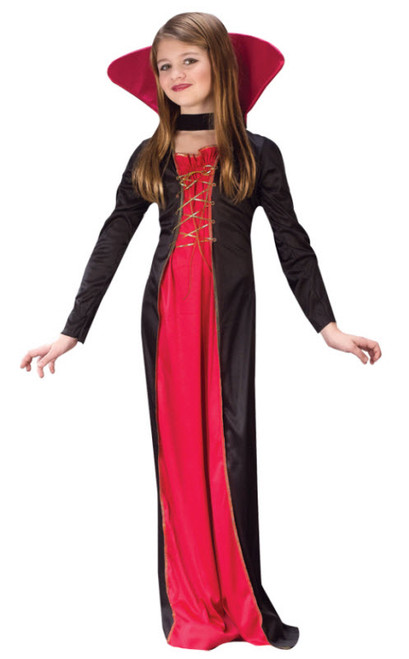 girls victorian vampiress costume fw9732