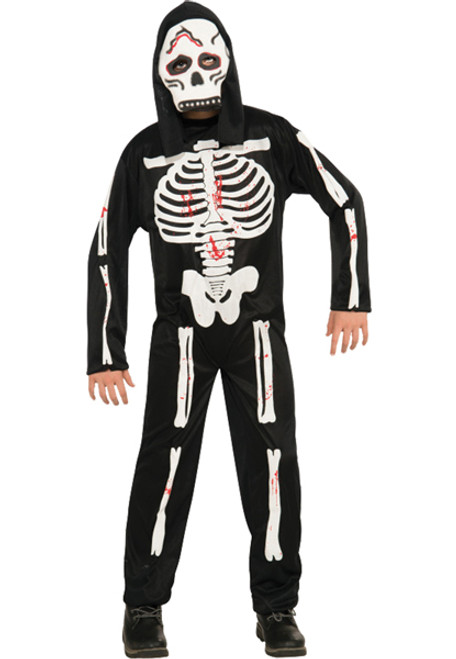 Skeleton Boys Costume & Sc 1 St Halloween Costumes