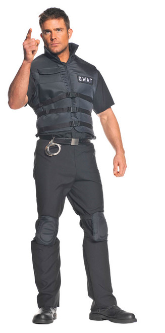 Menu0027s SWAT Costume UR29316  sc 1 st  Halloween Express & Military Halloween Costumes - Law Enforcement Costumes - Police Costumes