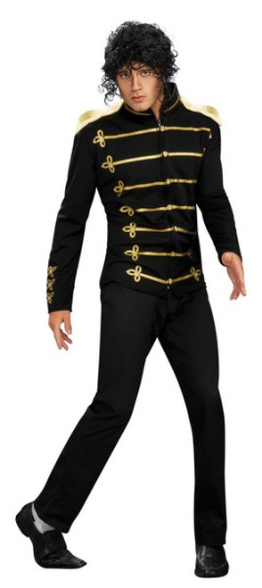 Michael Jackson Military Adult Costume RU889770  sc 1 st  Halloween Express & Michael Jackson Costumes and Accessories