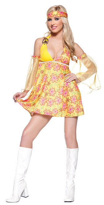 Womenu0027s Hippie Costume UR29098  sc 1 st  Halloween Express & Sixties and Seventies Halloween Costumes