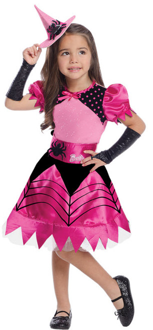 Girlu0027s Barbie Witch Costume  sc 1 st  Halloween Express & Spider Costumes for Adults Children and Teens