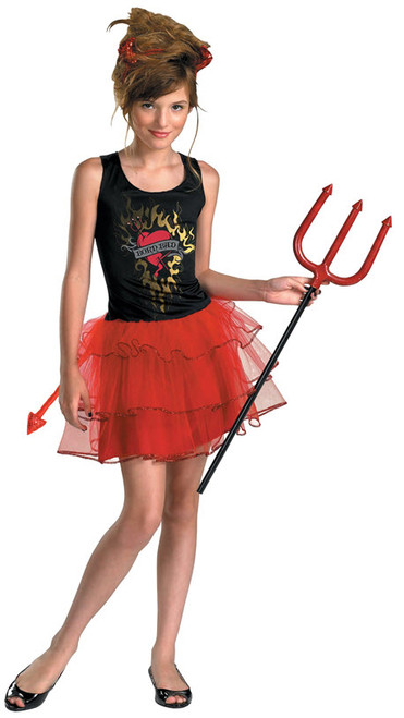 girls devil costume dg50008