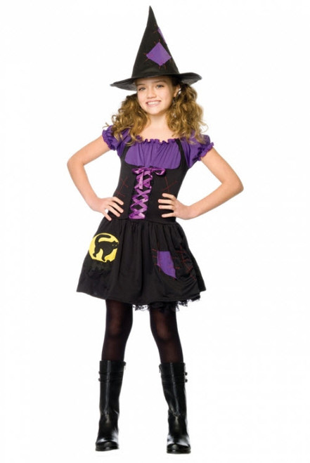 Girlu0027s Witch Costume UA48112  sc 1 st  Halloween Express & Family Friendly Witch Costumes