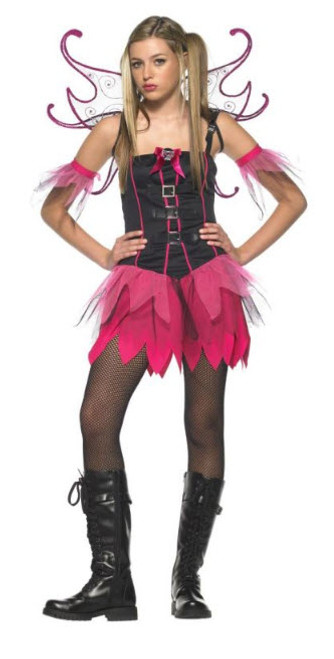 Girlu0027s Fairy Costume UA48009  sc 1 st  Halloween Express : teen fairy costumes  - Germanpascual.Com