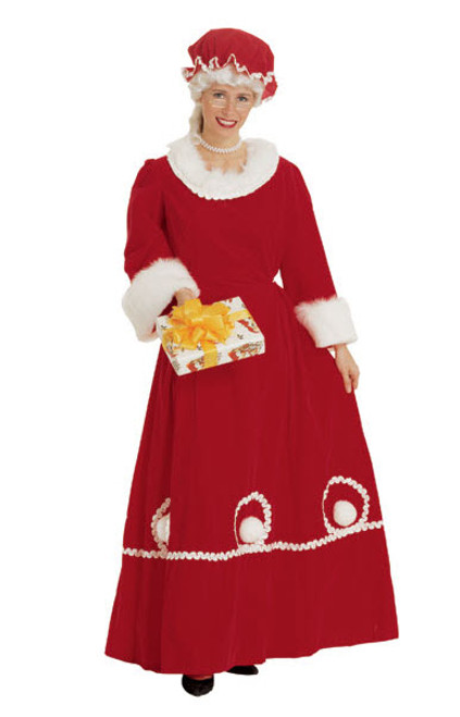 Mrs Claus Msaus Santa Helper Costumes