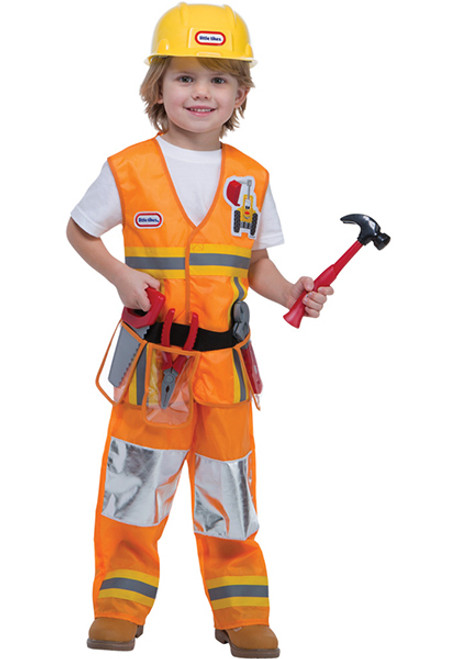 Toddler Construction Worker Costume  sc 1 st  Halloween Express & Toddler Construction Worker Costume - Halloween Express