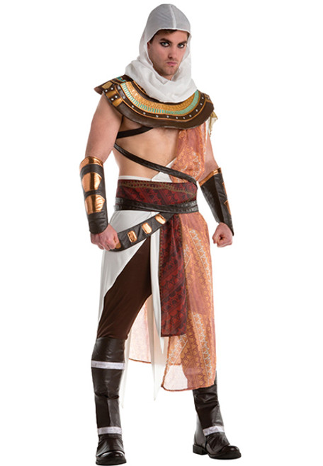 Menu0027s Assassinu0027s Creed Bayak Costume  sc 1 st  Halloween Express & Roman Greek and Egyptian Costumes for Men