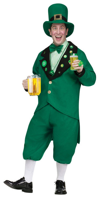 Adult Pub Crawl Leprechaun Costume  sc 1 st  Halloween Express & Costumes and accessories for your St. Patricku0027s Day celebration.