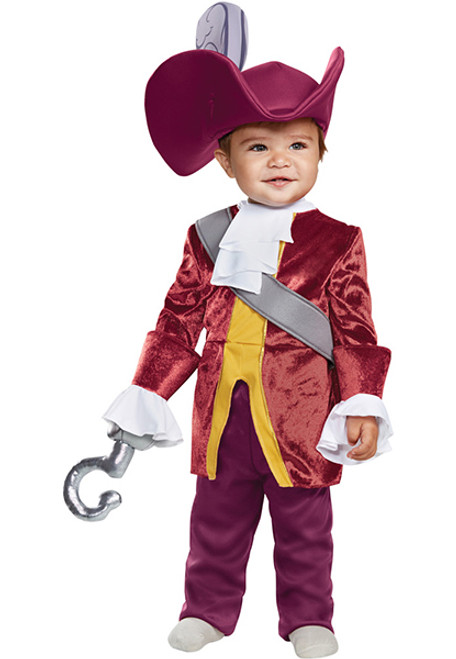Toddler Captain Hook Costume  sc 1 st  Halloween Express & Peter Pan Tinkerbell and Captain Hook Costumes and Accessories