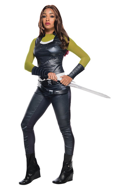 Adult Deluxe Gamora Costume  sc 1 st  Halloween Express & Marvel Comic Book Costumes for Adults Kids and Pets