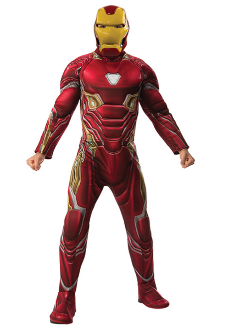 Adult Iron Man Deluxe Costume  sc 1 st  Halloween Express & Halloween Costumes for Adults