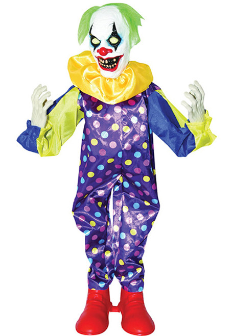 animated clown decoration