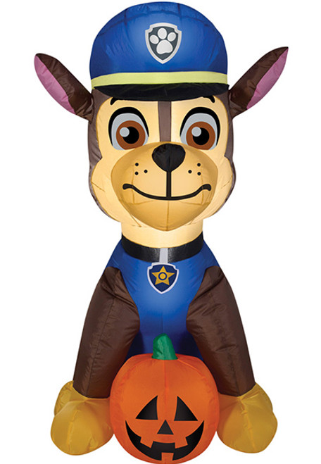 airblown paw patrol chase