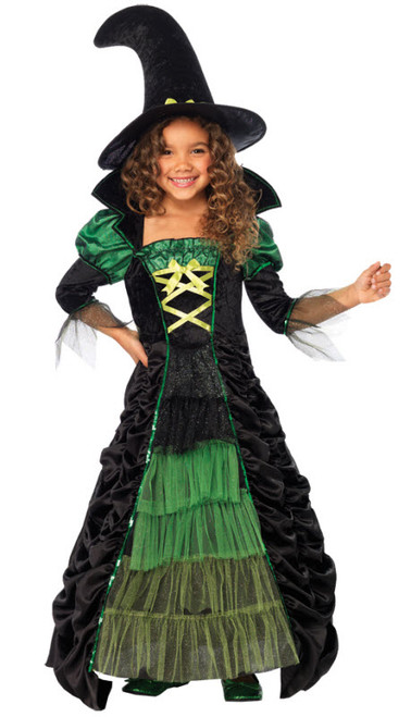 Girlu0027s Storybook Witch Costume  sc 1 st  Halloween Express & Witch Costumes for Kids