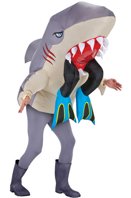 Adult Inflatable Shark Costume  sc 1 st  Halloween Express & Inflatable Costumes for Adults Children and Teens
