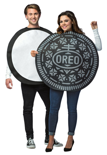 Adult Oreo Couples Costume  sc 1 st  Halloween Express & Couples Halloween Costume Ideas