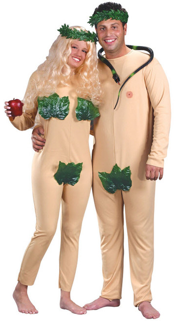 Adult Adam and Eve Costume  sc 1 st  Halloween Express : couple costumes for teens  - Germanpascual.Com