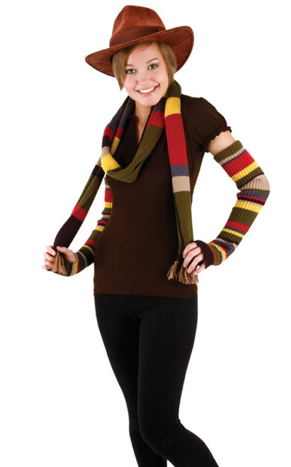 4th Doctor Arm Warmers  sc 1 st  Halloween Express & Doctor Who Costumes and Accessories