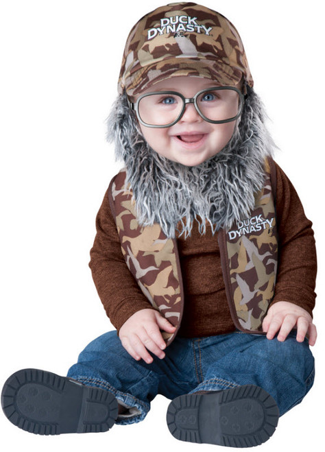 Infant Duck Dynasty Baby Uncle Si Costume  sc 1 st  Halloween Express & Duck Dynasty Baby Willie Costume - Halloween Express