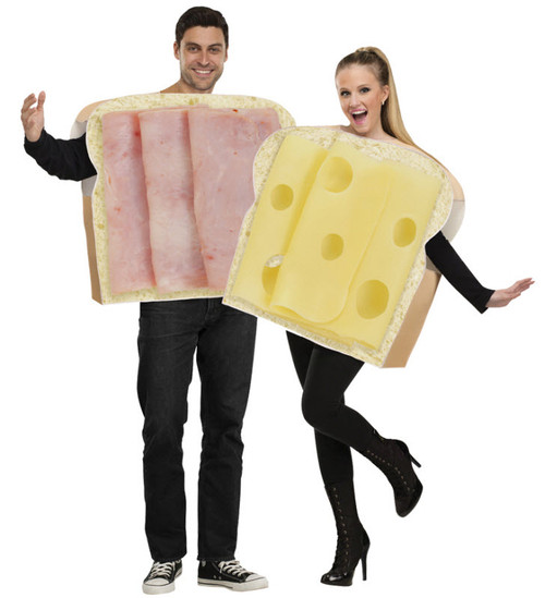 Adult Ham And Swiss Couples Costume  sc 1 st  Halloween Express & Couples Halloween Costume Ideas