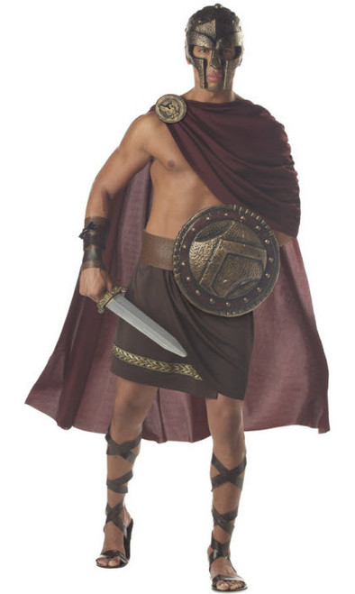 Menu0027s Spartan Warrior Costume  sc 1 st  Halloween Express & Costumes from the movie 300