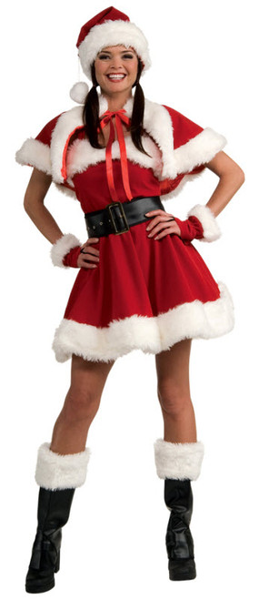Womenu0027s Sexy Miss Santa  sc 1 st  Halloween Express & Sexy Santa Costumes Sexy Santa Sweetie and Sexy Holiday Costumes