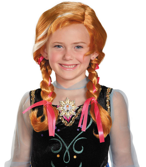 Frozen Anna Wig  sc 1 st  Halloween Express : disney frozen costume for adults  - Germanpascual.Com