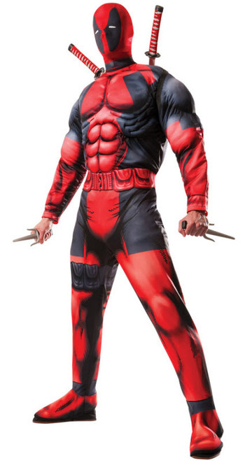 mens deadpool costume