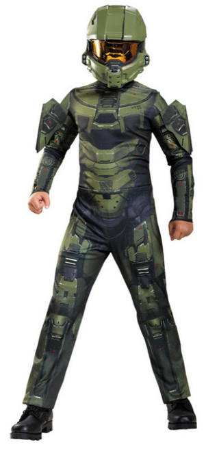 Boyu0027s Halo Master Chief Costume  sc 1 st  Halloween Express & Halo Video Game Costumes and Accessories