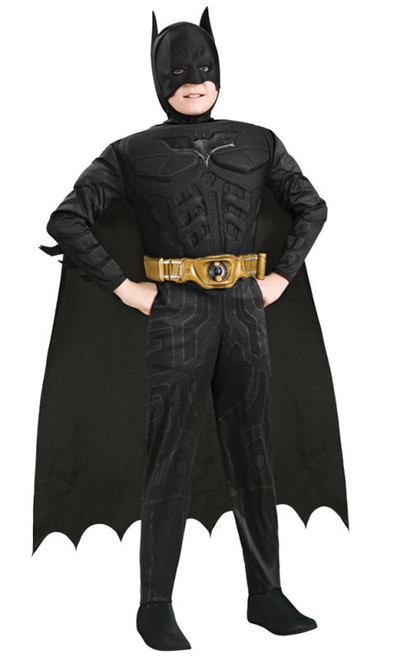 Boyu0027s Batman Muscle Chest Costume  sc 1 st  Halloween Express & Superhero Costumes for Kids