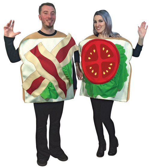 Adult BLT Couples Costume  sc 1 st  Halloween Express & Couples Halloween Costume Ideas