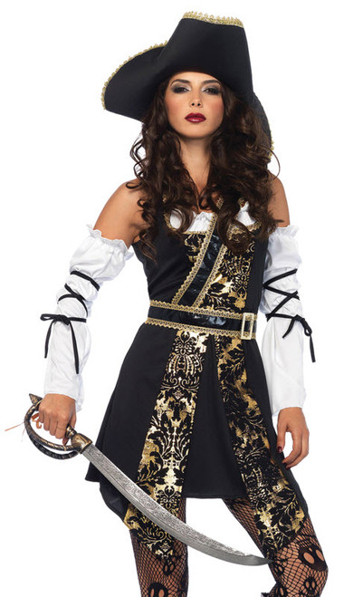 womens buccaneer pirate costume ua85563
