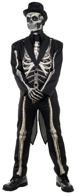 Menu0027s Bone Chillin Costume  sc 1 st  Halloween Express & Plus size costumes for men