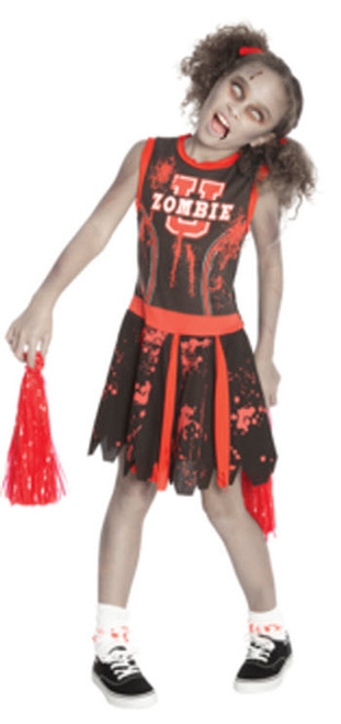 Girls Undead Cheerleader Costumes  sc 1 st  Halloween Express & Sports Costumes for Kids