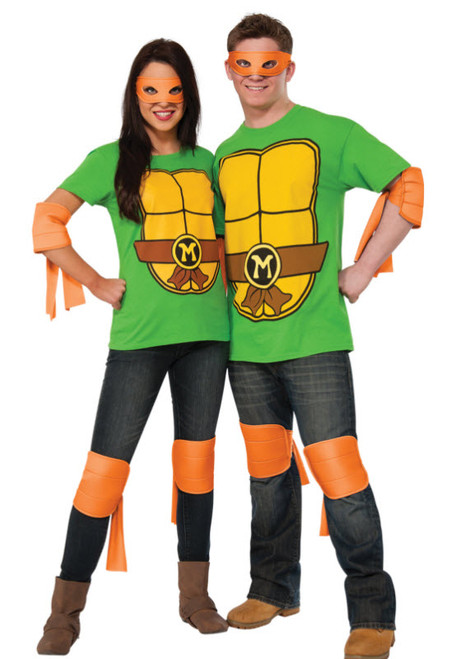 Adult TMNT Michelangelo Costume Kit  sc 1 st  Halloween Express & TMNT Costumes and Accessories