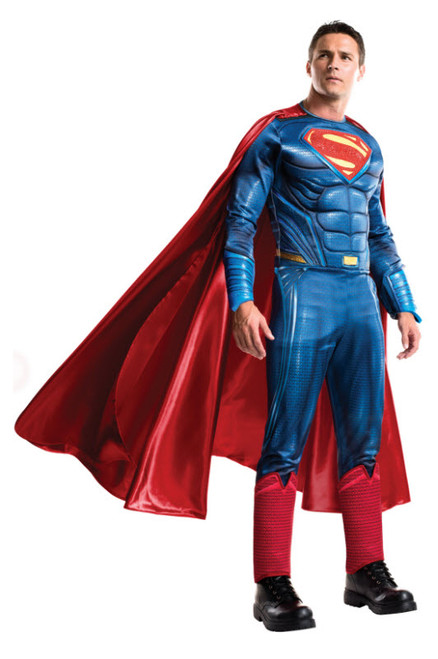 Grand Heritage Superman Costume  sc 1 st  Halloween Express & Halloween Costumes for Adults