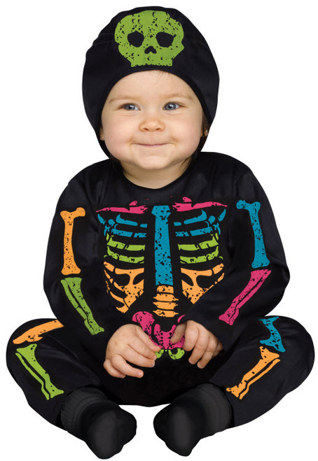 Baby Skeleton Costume  sc 1 st  Halloween Express : skeleton costume boys  - Germanpascual.Com