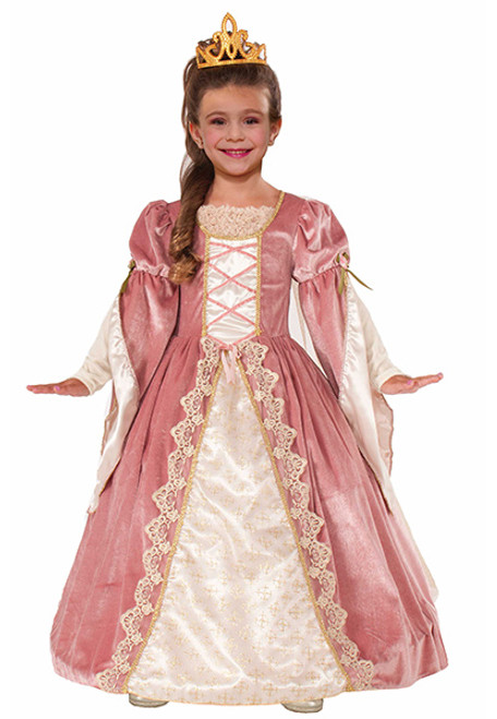 Childu0027s Victorian Rose Costume  sc 1 st  Halloween Express & Princess Costumes for girls. Super selection of princess costumes.