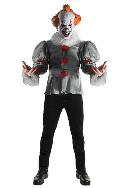 adult deluxe pennywise it costume