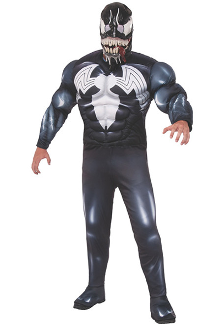 Adult Marvel Classic Venom Costume  sc 1 st  Halloween Express : spiderman costume 3t  - Germanpascual.Com