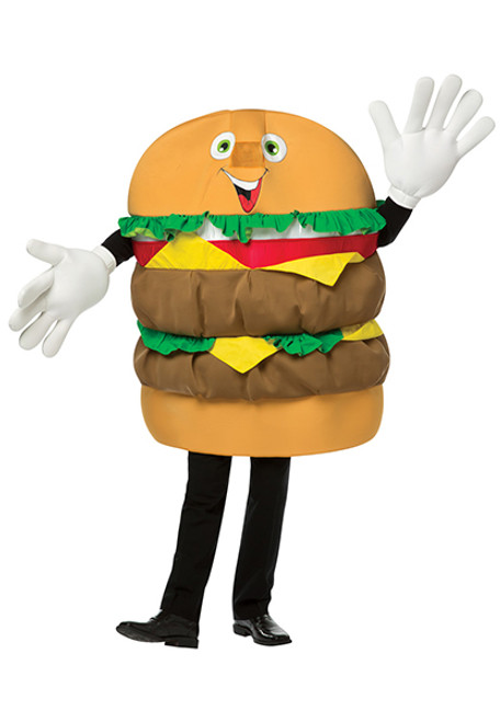 Adult Cheeseburger Waver Costume  sc 1 st  Halloween Express & Funny Halloween Costumes for Women