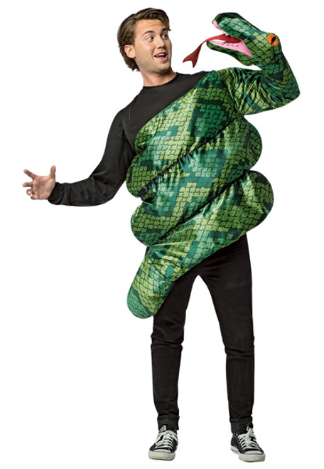 Adult Anaconda Snake Costume  sc 1 st  Halloween Express : cat costume for guys  - Germanpascual.Com