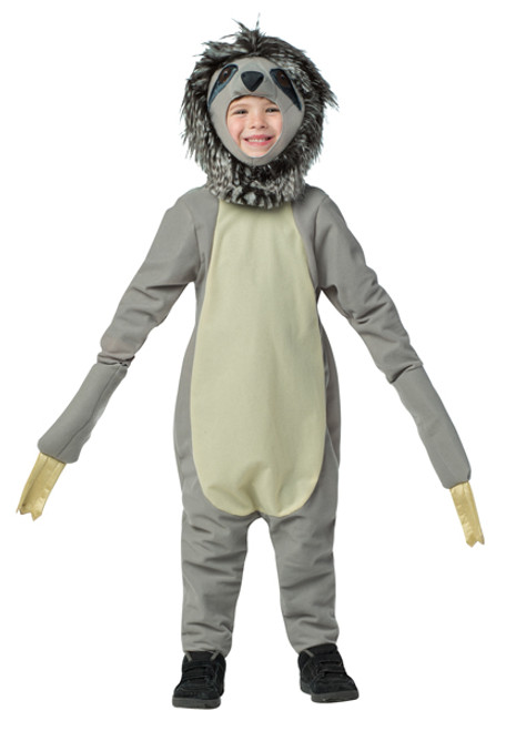 child sloth costume gc654146
