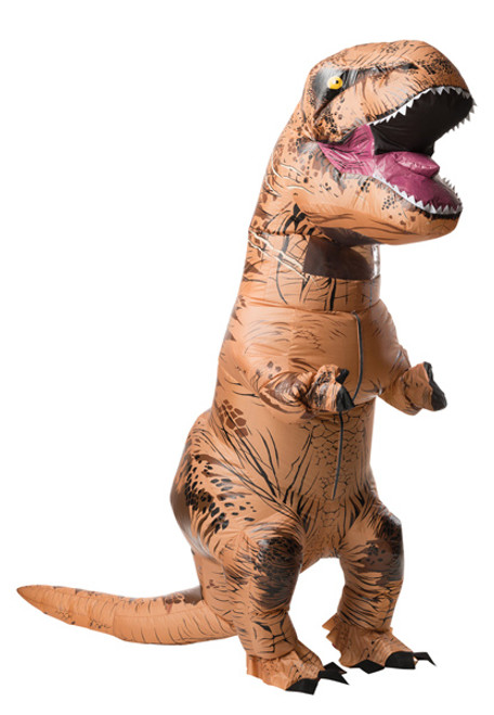 Inflatable T Rex With Sound Costume Halloween Express