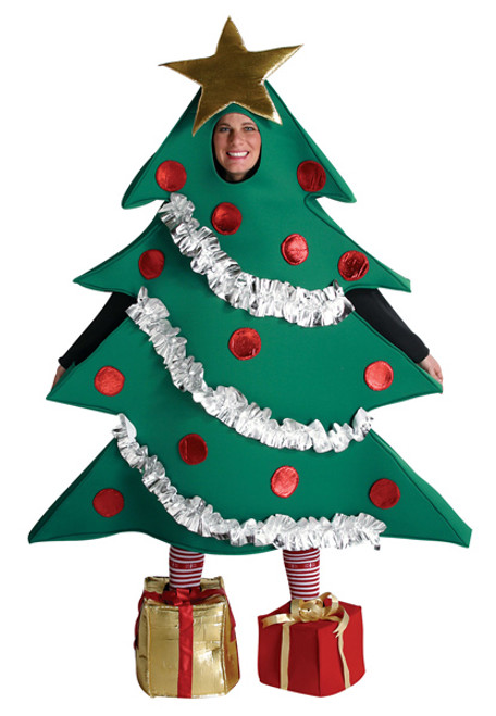 Adult Christmas Tree Costume GC7118  sc 1 st  Halloween Express & Christmas Costumes for Adults and Children
